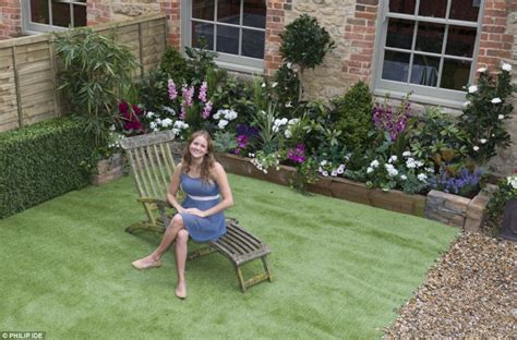 ersatz gardens that defy the elements are all the rage daily mail