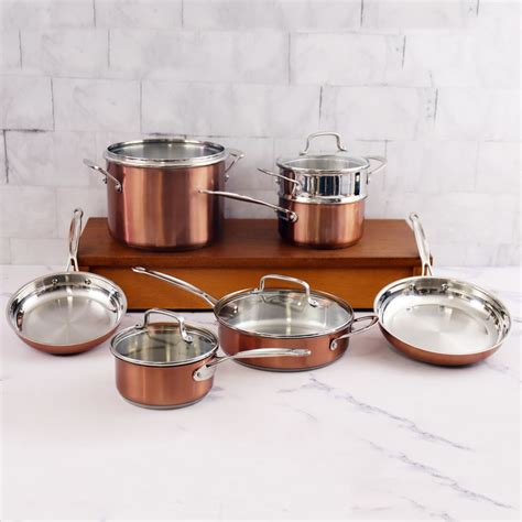 cuisinart chefs classic stainless  piece set review