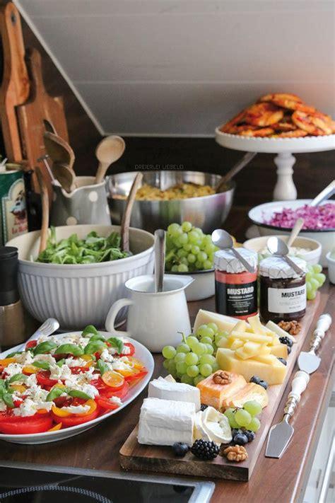 brunch ideen für zuhause partybuffet inspiration catering idees brunch snacks und brunch buffet
