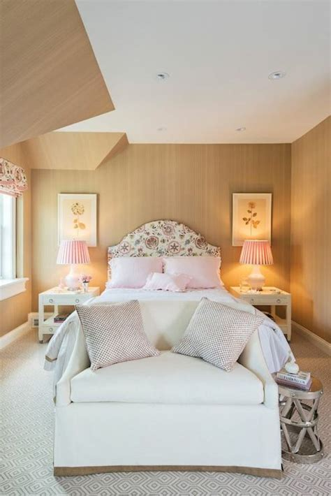 pink  beige bedrooms transitional bedroom lindsey