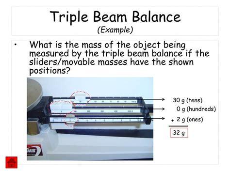 triple beam balance metric mania  images