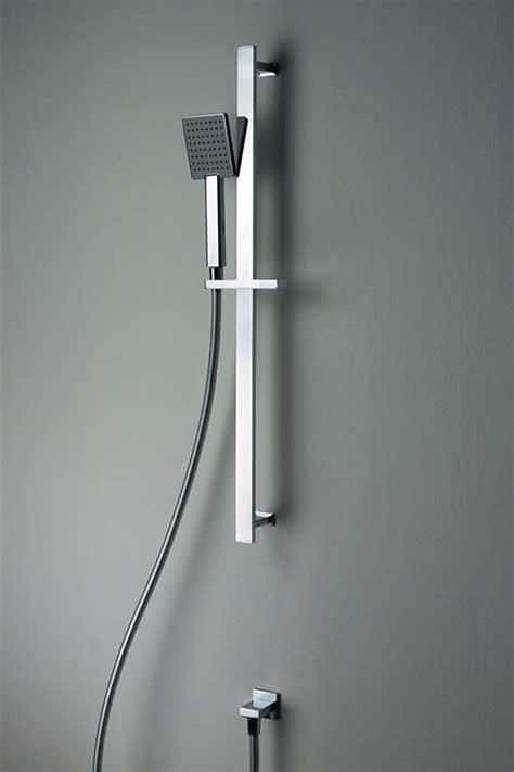 adjustable  rail shower head cubic slim