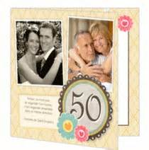 invitation 50 ans de mariage invitation noces d 39 or idée de cartes textes