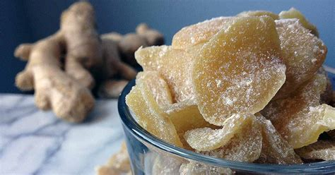 ginger candy preservation food sugaring crystallized candied recipe sugar foodal preservative cooking recipes sweet homemade easy shelf treat