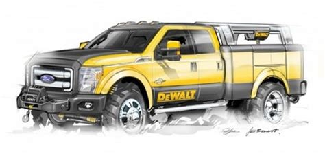 concept work truck ford lineup for 2009 sema
