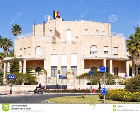 Consolato Gerusalemme - belgian consulate jerusalem stock photo image of