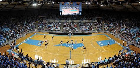 carmichael arena unc tar heels athletics