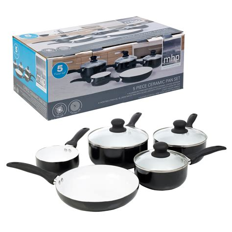ceramic cookware pans hob pots saucepans electric gas stick non cooking compatible kitchen