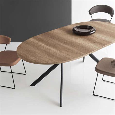 cours de cuisine box table ovale extensible en mélaminé giove connubia 4