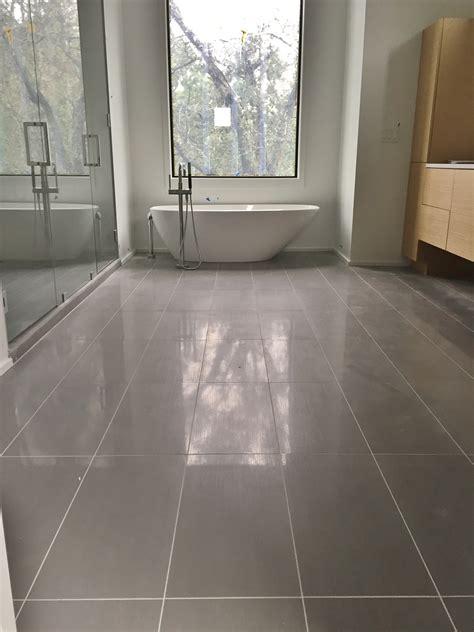ceramic tile for bathroom floor 12x24 porcelain tile on master bathroom floor tile