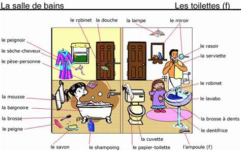 vocabulaire de la chambre vocabulaire de la maison et des pièces again