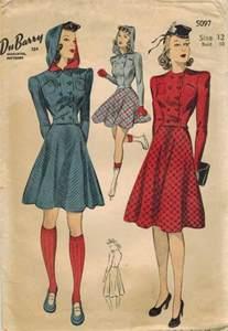 Du Barry 1940s Sewing Pattern