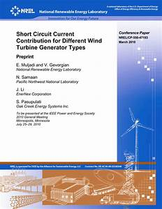 Pdf  Short Circuit Current Contribution For Different