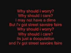 Oliver And Company  Why Should I Worry  Lyrics