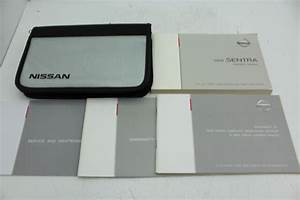 08 Nissan Sentra Vehicle Owners Manual Handbook Guide Set