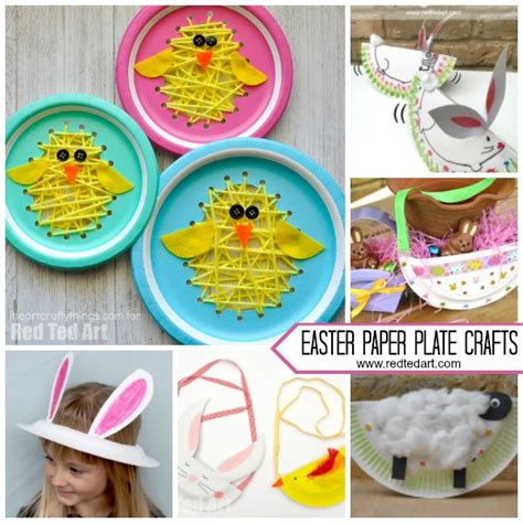 paper plate easter crafts for preschool ted 136 | Paper Plate Easter Crafts for Preschool