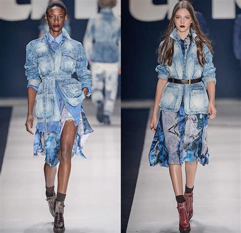 tng  winter womens runway denim jeans fashion week
