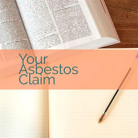 asbestos claim