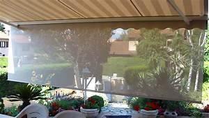 Store Banne Avec Lambrequin : store de terrasse avec lambrequin de roulable ambiance ~ Edinachiropracticcenter.com Idées de Décoration