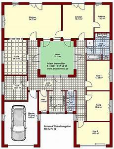 Atrium Bungalow Grundrisse : atrium a winkelbungalow 178 27 20 einfamilienhaus neubau massivbau stein auf stein ~ Bigdaddyawards.com Haus und Dekorationen
