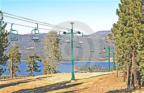 snow summit chair lift stock photo image 56084176