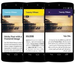 wordpressdevelopmentblog mobile site web portal  iphone blackberry android webos palm