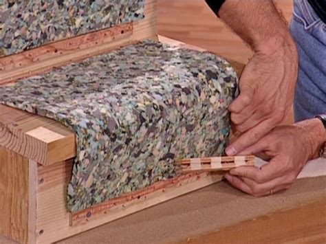 how to lay carpet how to install a carpet runner on wooden stairs how tos diy