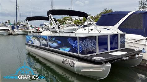 Marine Wrap Boat Graphics by Wrap Gallery Marine Graphics Ink