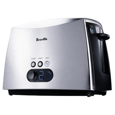 Breville Blue Toaster - breville ct70xl ikon 2 slice toaster defrost reheat