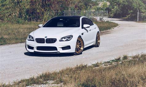Bmw Alpine White by Alpine White Bmw M6 Gran Coupe With Velos Designwerks Wheels