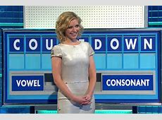Countdown Rachel Riley has wardrobe malfunction as