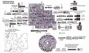 05 4l60e Valve Body Diagram