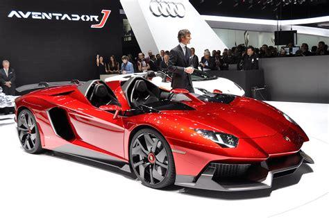 Lamborghini Aventador J Steals The 2012 Geneva Motor Show