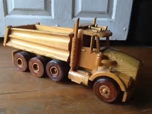 Dump Truck Wooden Toy Plans