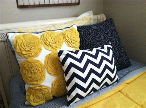 Yellow And Blue Master Bedroom by Cobalt And Blue With Yellow Accents For Master