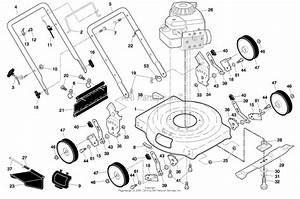Ayp  Electrolux Rotary Lawn Mower  96114000311  2007