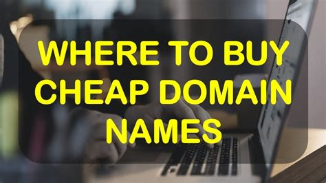 Ionos offers you a wide range of different cheap domains. Where To Buy Cheap Domain Names - YouTube