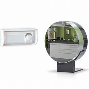 Interphone Vidéo Filaire Effet Miroir Extel Quattro 2 : extel carillon sans fil 150 m looni ~ Edinachiropracticcenter.com Idées de Décoration
