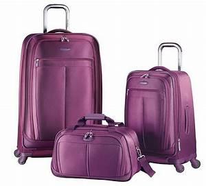 Samsonite Koffer Set : samsonite 3 pc spinner luggage set 29 suitcase 21 carry on bag solar rose ~ Buech-reservation.com Haus und Dekorationen