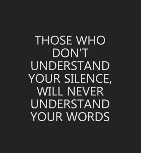 People Who Don't Understand Your Silence 9buz