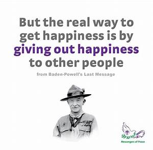 Baden Powell Quotes. QuotesGram