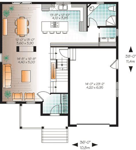 open concept floor plan dr architectural designs