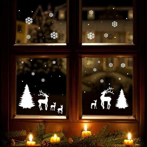 weihnachtsdeko fenster modern bastelidee f 252 r weihnachten moderne weihnachtsdeko