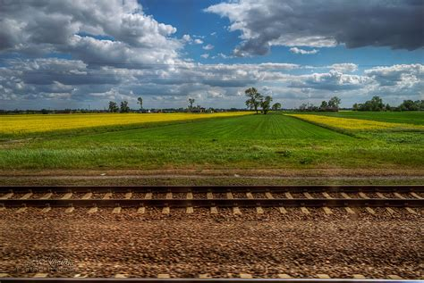 Polish landscapes - from the train window | Robert Rybak ...