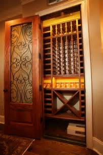 decorating ideas for small bathrooms with pictures closet converted to wine cellar traditional wine cellar atlanta by cellars south