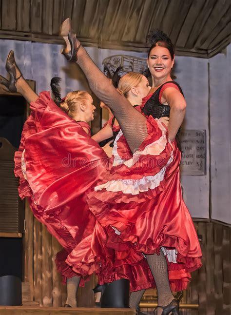 dancehall dancers entertaining cancan hall dawson perform preview cheeky