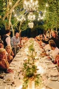 wedding dinner ideas best 25 outdoor dinner ideas on dinner decorations table settings