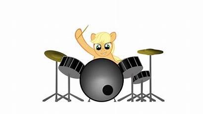 Drummer Animation Drumming Animated Deviantart Moongazeponies Sticker