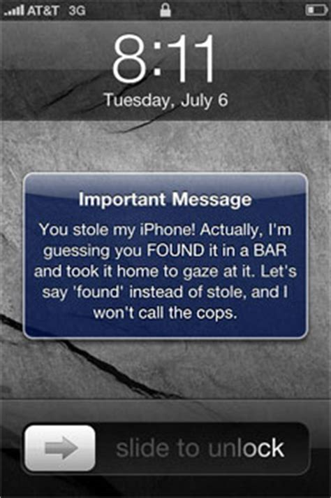 lost iphone an app to find lost iphones wipe secret data and