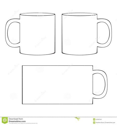 coffee mug template 20 mug template vector images free vector coffee cup template mug coffee cup template and